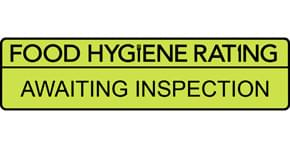 Food hygiene Rating of AwaitingInspection